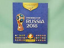 Panini WM 2018 Russia World Cup Sticker Sammelalbum Album Leeralbum Neu