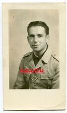 Foto Portrait Luftwaffe Tropen Uniform Afrika DAK Italien Schwarz Hemd