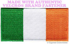 IRELAND FLAG PATCH IRISH EMBROIDERED REPUBLIC EMBLEM w/ VELCRO® Brand Fastener