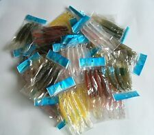 "400 NEW Soft Plastic Fish Worm Fishing Lures Bait 4.75"" wholesale lots lure"