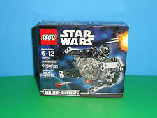 NEW LEGO Star Wars, TIE Interceptor with Pilot Mini Figure 75031 Microfighters