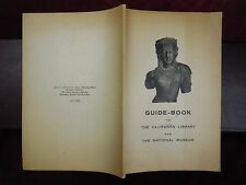 GUIDE-BOOK to VAJIRANAN LIBRARY & NATIONAL MUSEUM/SIAM THAILAND/1948 1st