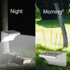 Aluminum Solar LED Motion Sensor Wall Light Outdoor IP65 Landscape Lamp #3YE