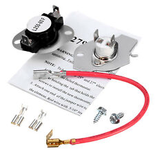 Whirlpool Kenmore Roper Estate Dryer Thermal Cut Out High-limit Thermostat Kit