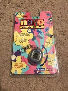 """Vintage 1997 Playmates Nano """"Baby"""" WAAA. Clear RARE Original Packaging"""