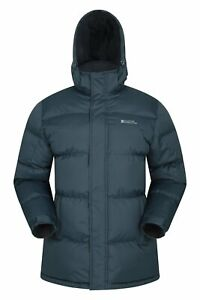 Mountain Warehouse Mens Padded Jacket Puffer Water Resistant Winter Snow Coat
