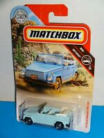 "Matchbox 2019 MBX Off-Road #75 '74 Volkswagen Type 181 Light Blue ""Thing"""