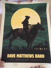 Dave Matthews Band Concert Poster 12/14/2012 Charlottesville Virginia