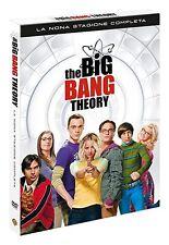 THE BIG BANG THEORY: LA NONA STAGIONE COMPLETA (3 DVD)-COFANETTO SINGOLO NUOVO