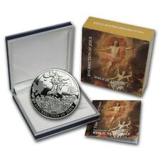 Palau $2 Dollars, 1/2 oz. Silver Proof Coin, 2014,Biblical Stories,Resurrection