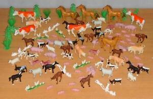 Bauernhof Tiere über 100 Teile Kühe Schweine Pferde Neu
