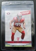 2019 PANINI PRESTIGE #211 NICK BOSA ROOKIE CARD RC SAN FRANCISCO 49ERS MINT