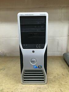 DELL T5500 - Intel X5647@2.93GHz 4C, 12 GB DDR3, 500GB, NVS 300 512 MB, W10Pro