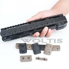 M-lok Rail Cover 12 Piece Polymer Mlok Handguard Covers Fit Mlok Rail System