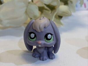 Littlest Pet Shop LPS Authentic 648 Mini Dangler Gacha Tomy Purple Bunny