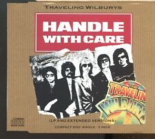 """Traveling Wilburys / Handle With Care - 3"""" Cd Single - MINT"""