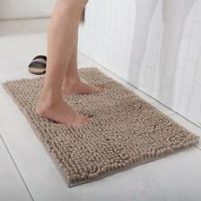 """Bath Mat Non-slip Bathroom Rug Fashion Soft Shaggy Microfiber Floor Mat 31""""x20"""""""