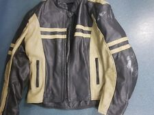 MOTORCYCLE LEATHER JACKET SIZE XL *** FREE FREIGHT ***