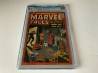 MARVEL TALES 148 CGC 4.0 HORROR SCI FI WHERE DID THEY GO? ATLAS COMICS 1956