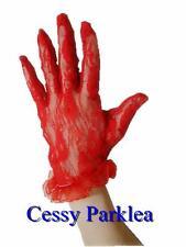 Black Red White Short Lace Wrist Ruffle Bridal Wedding Gloves Costume Accessory