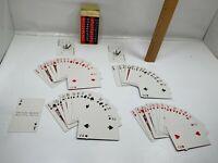 Vintage Remembrance Bridge Playing Cards With Redi-Slip Finish Red Black Joker