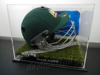 ✺Signed✺ SHANE WARNE Cricket Helmet PROOF COA Australia 2018 Shirt Jersey
