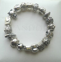 Genuine Authentic Pandora Discontinued Charm Collection Rare & Retired!