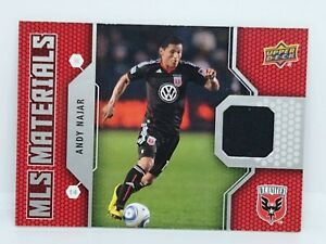 2011 Upper Deck ANDY NAJAR MLS Materials Jersey Relic Patch 🔥DC United