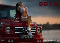 ProTuning 2018 Tuning Kalender Calendar Car Cars HotWheels Sexy Auto Miss