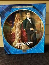 James Bond 007 Ken and Barbie Giftset NRFB Collector Edition Mattel NEW