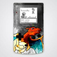 Game Boy Color Housing Shell UV Printed Art Charizard Custom Kit Case Nintendo