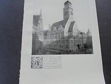 1909 ...Bauzeitung 91 / Rathaus Berlin Rixdorf