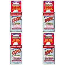 (4)Homax Group 710755 Oops! Extreme Stain Remover All Purpose Low Odor 4.5 oz *