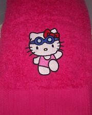 """HELLO KITTY SWIMMING/BATH TOWEL"" 100% COTTON"