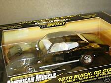 10 Fastest, ERTL 1/18, 1970 BUICK GS Stage 1, Black, NEW