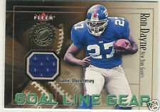 2001 FLEER AUTHORITY GOAL LINE GEAR RON DAYNE JERSEY