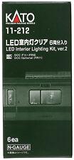 Kato N Scale 11-212 LED Interior Lighting Kit  6 Cars Set