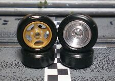 URETHANE SLOT CAR TIRE 2pr PGT-20084 fit CB Design 15x7 Steel & Classic