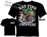 Ratfink T Shirts Rat Fink Choppers Big Daddy Clothing Ed Roth T Shirts Bobber