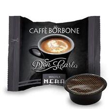 200 capsule caffè BORBONE miscela NERA comp. Lavazza a Modo Mio nero cialde