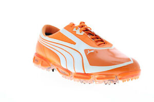 Puma AMP CELL Fusion SL 18615602 Mens Orange Synthetic Athletic Golf Shoes