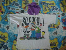 Vintage 90's Looney Tunes Jerry Leigh rap hip hop hoodie T shirt Adult Size L