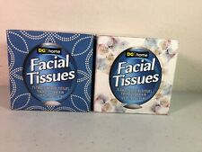 2 boxes DG brand facial tissue with lotion