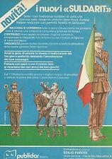 X9800 Alpino - I nuovi SULDARIT - Publidar  - Pubblicità 1975 - Advertising
