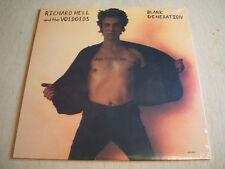 Richard Hell & The Voidoids :  Blank Generation reissue vinyl lp mint new sealed