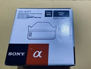 Sony Fisheye Converter lens VCL-ECF1 Silver