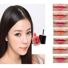 Liquid Cherry Pink Tint Stain Magic Lip Plumper Nature Long Lasting Moisturizing