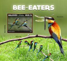 Maldives - 2019 Bee-eater Birds - Stamp Souvenir Sheet - MLD190608b