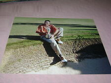 Ben Curtis PGA Golf Signed 8x10 British Open Trophy Photo