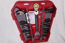 Craftsman 7 Piece Universal Metric Mm Ratcheting Flex Wrench Set 35300 New
